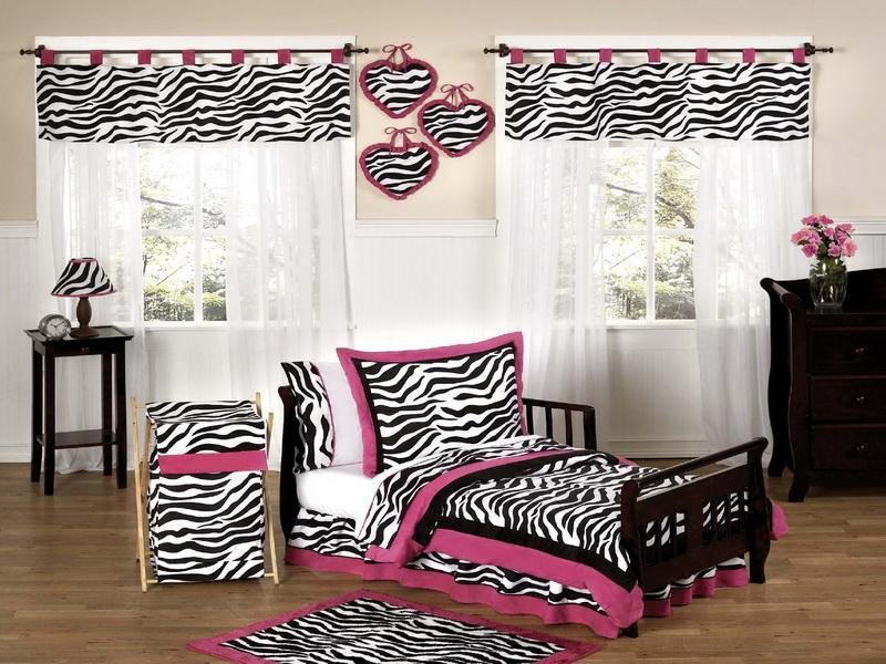 Best Bloombety Zebra Print Decor For Bedroom Comforter Set With Pictures