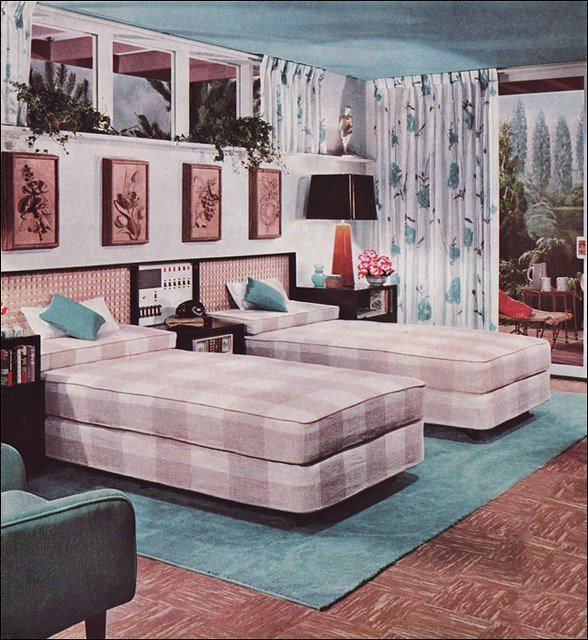 Best 1950S Bedroom Design Flickr Photo Sharing With Pictures