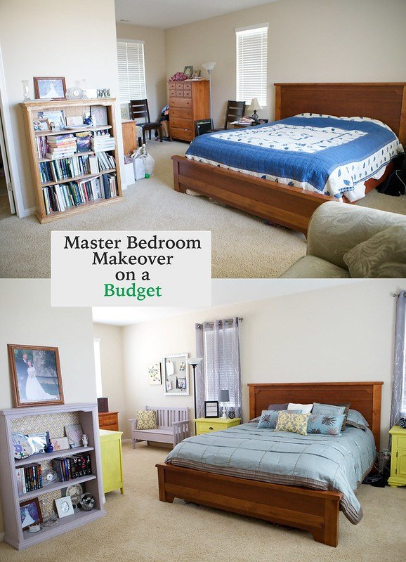 Best Emmy Mom One Day At A Time Master Bedroom Makeover On A Budget With Pictures