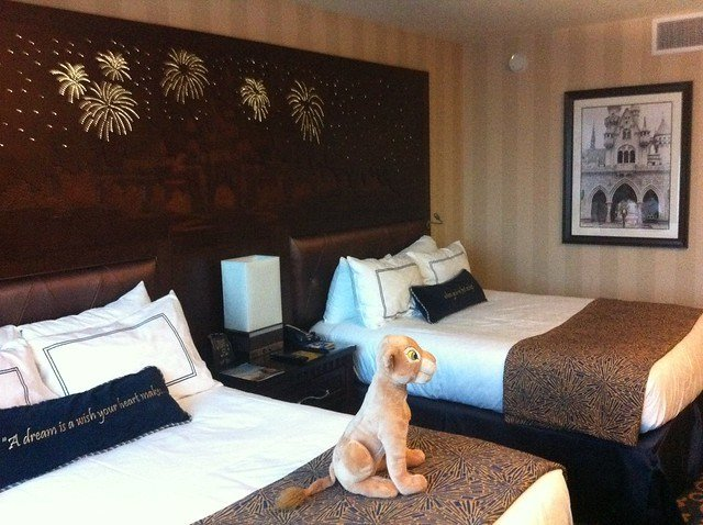 Best 2 Bedroom Suite 2103 2105 At Disneyland Hotel In With Pictures