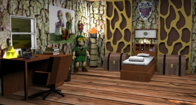 Best Legend Of Zelda Themed Children S Bedroom By Mallory Monick On Deviantart With Pictures