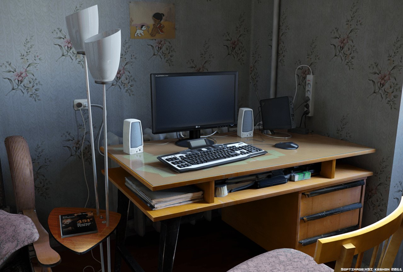 Best Bedroom Computer Desk By Keshon83 On Deviantart With Pictures