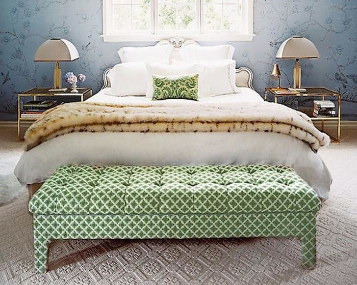 Best 10 Captivating And Stylish Bedroom Ottoman Designs Rilane With Pictures