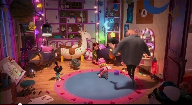 Best Image The Girls Bedroom In Despicable Me 2 Jpg With Pictures