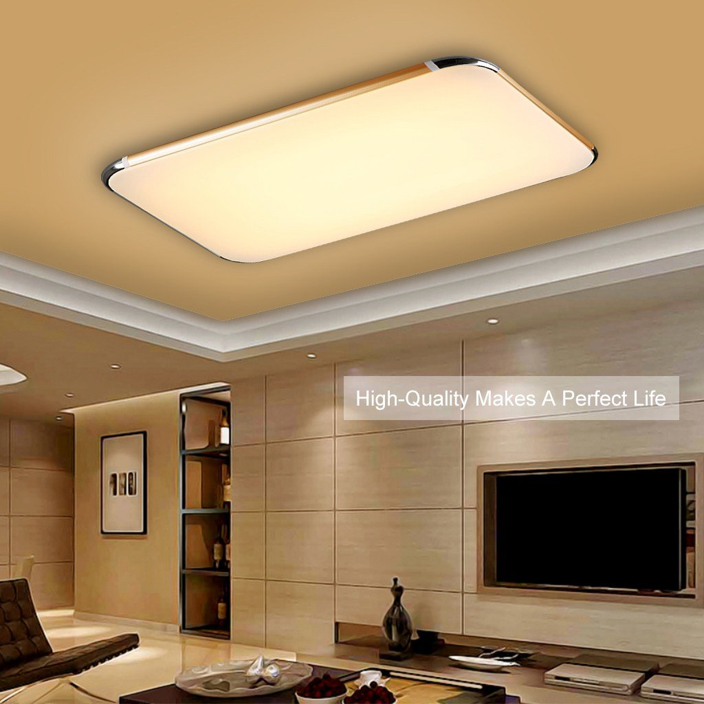 Best 48W Flush Mount Led Pendant Light Ceiling Lamp Bedroom With Pictures