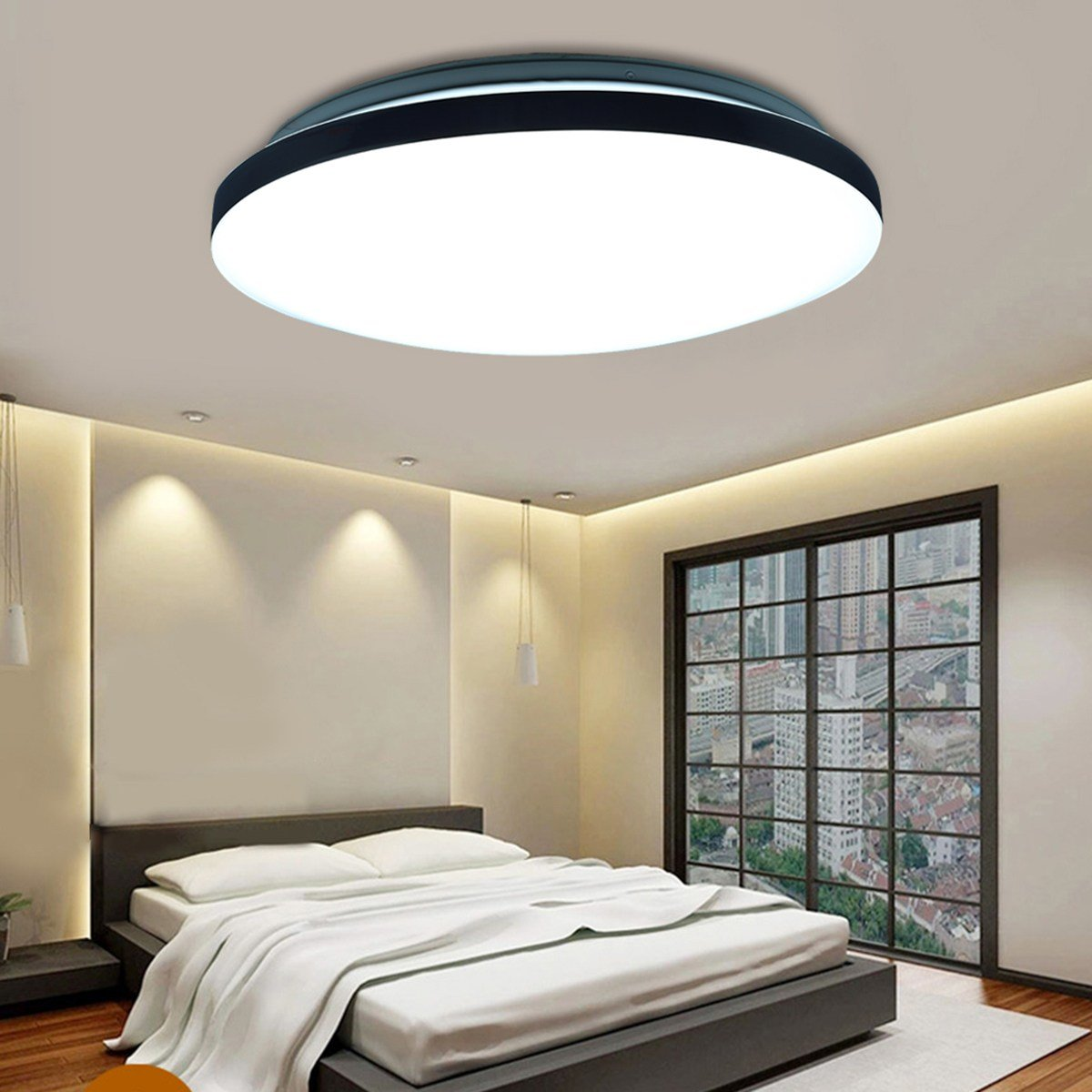 Best 18W Round Led Ceiling Light Fixture Lighting Flush Mount With Pictures
