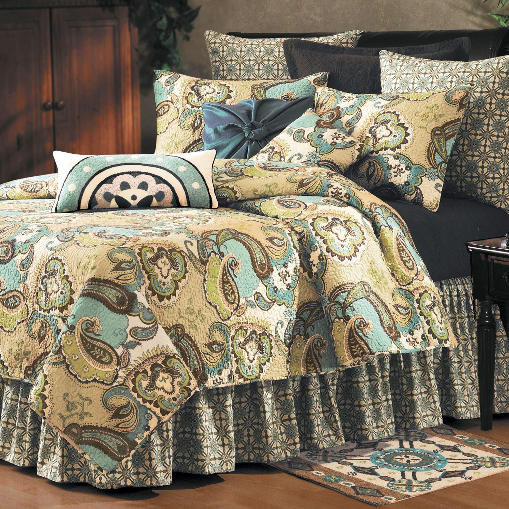 Best Kasbah Paisley Quilt Bedding With Pictures