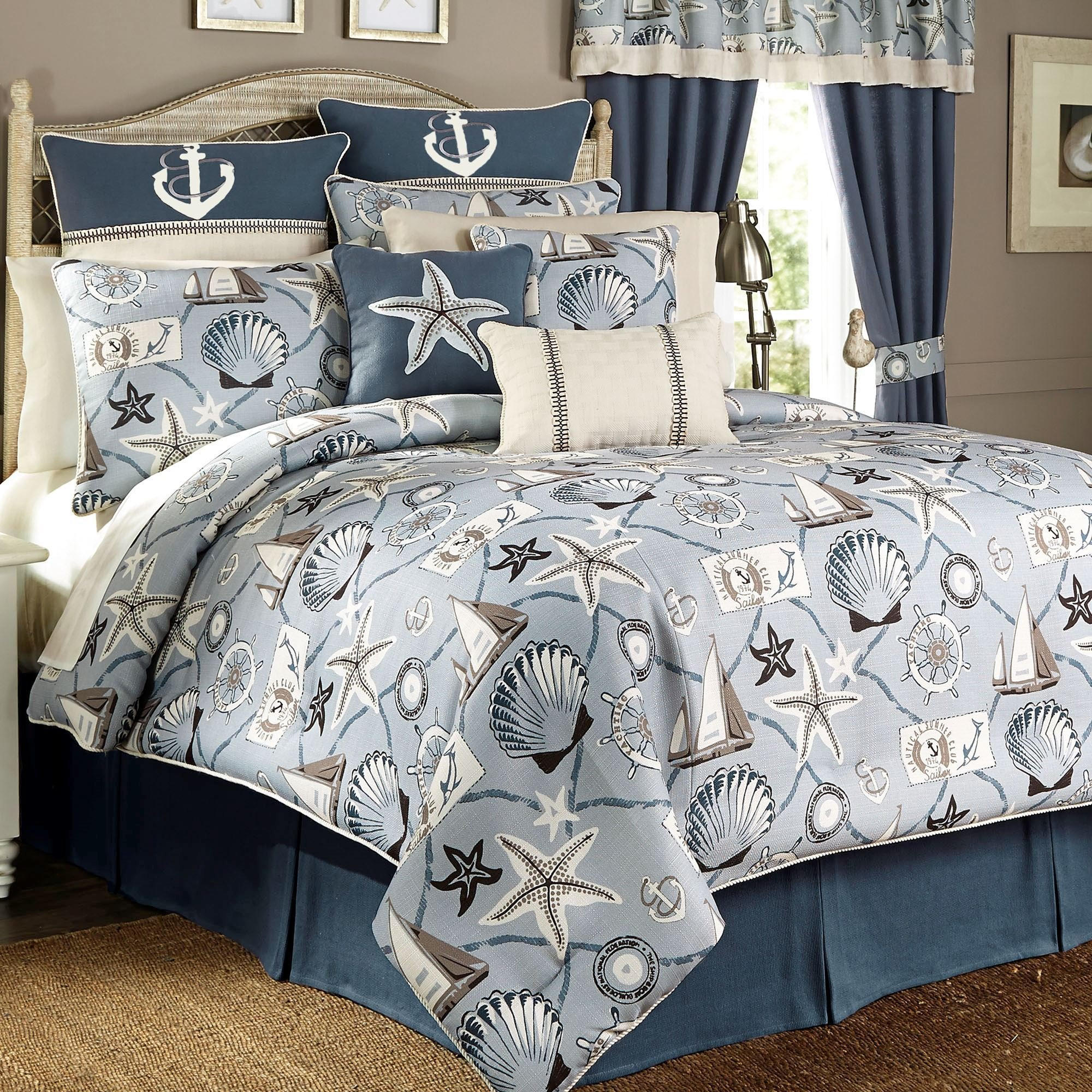 Best Yachtsman Nautical Comforter Bedding By Croscill With Pictures