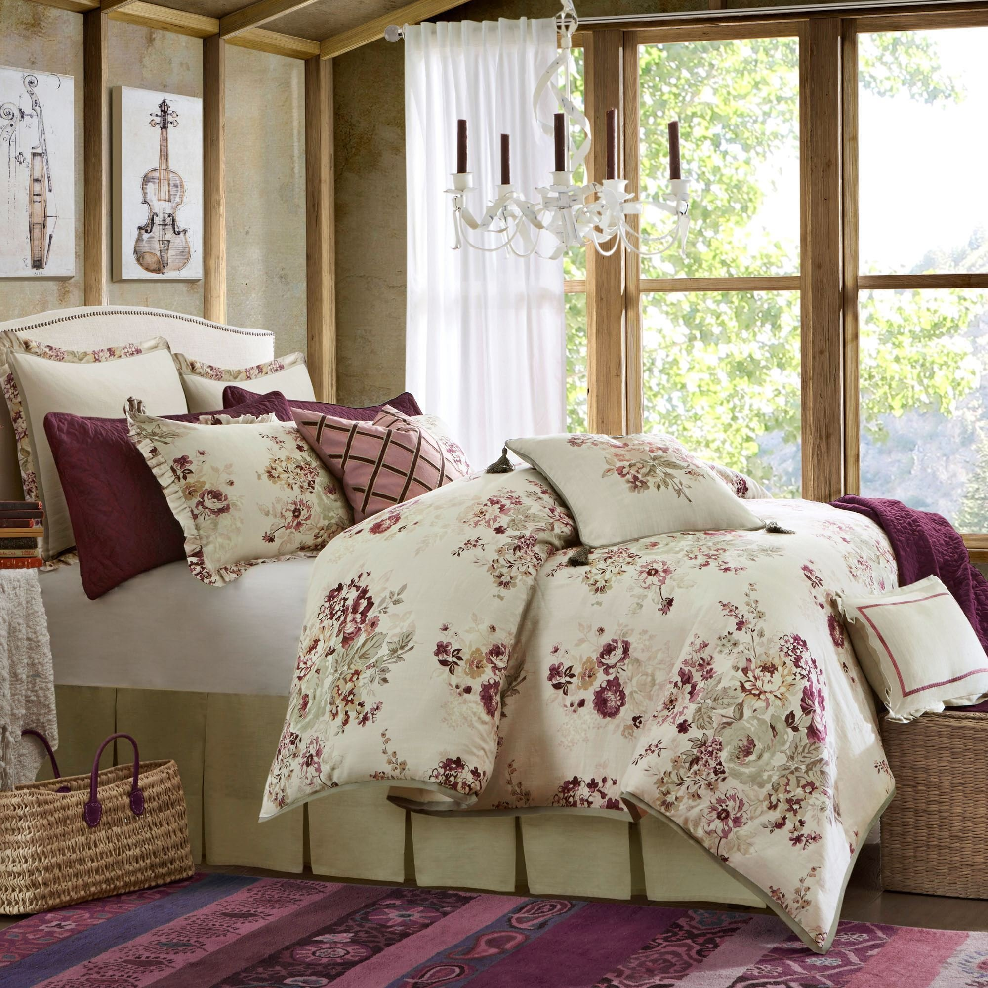 Best Cherish Floral Comforter Set With Pictures
