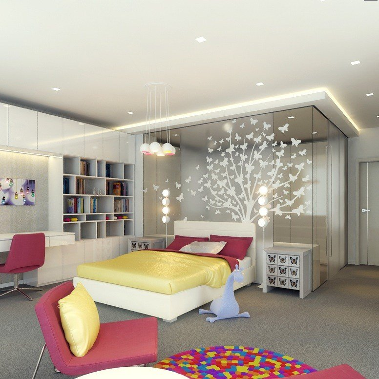 Best Kids Rooms Climbing Walls And Contemporary Schemes With Pictures