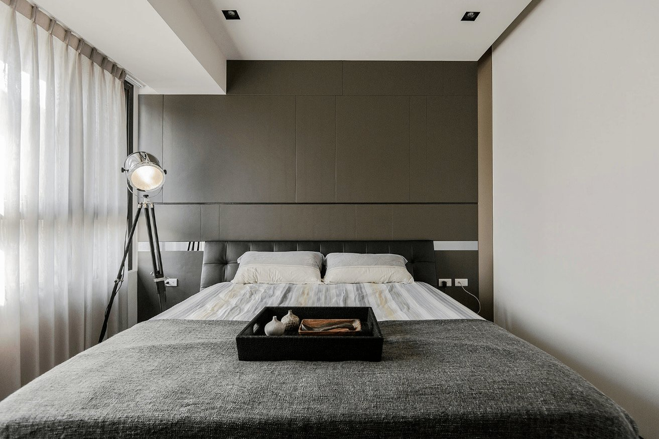 Best Stone And Wood Make A Dark Masculine Interior With Pictures