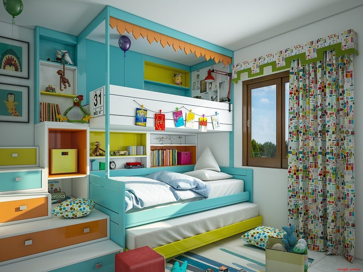 Best Super Colorful Bedroom Ideas For Kids And Teens With Pictures
