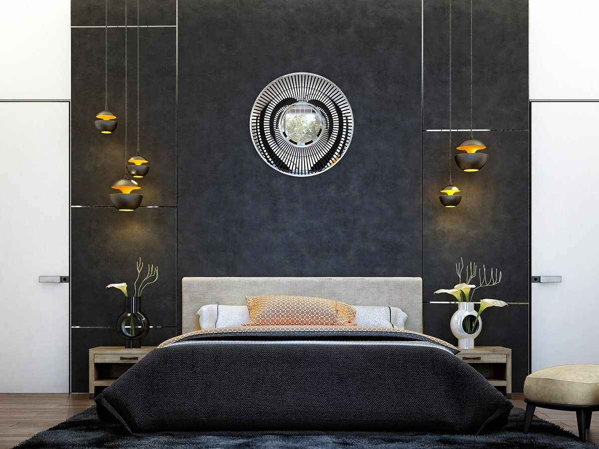 Best 6 Creative Bedrooms With Artwork And Diverse Textures With Pictures