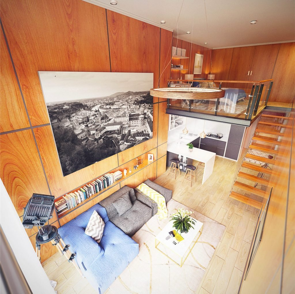 Best Small Homes That Use Lofts To Gain More Floor Space With Pictures