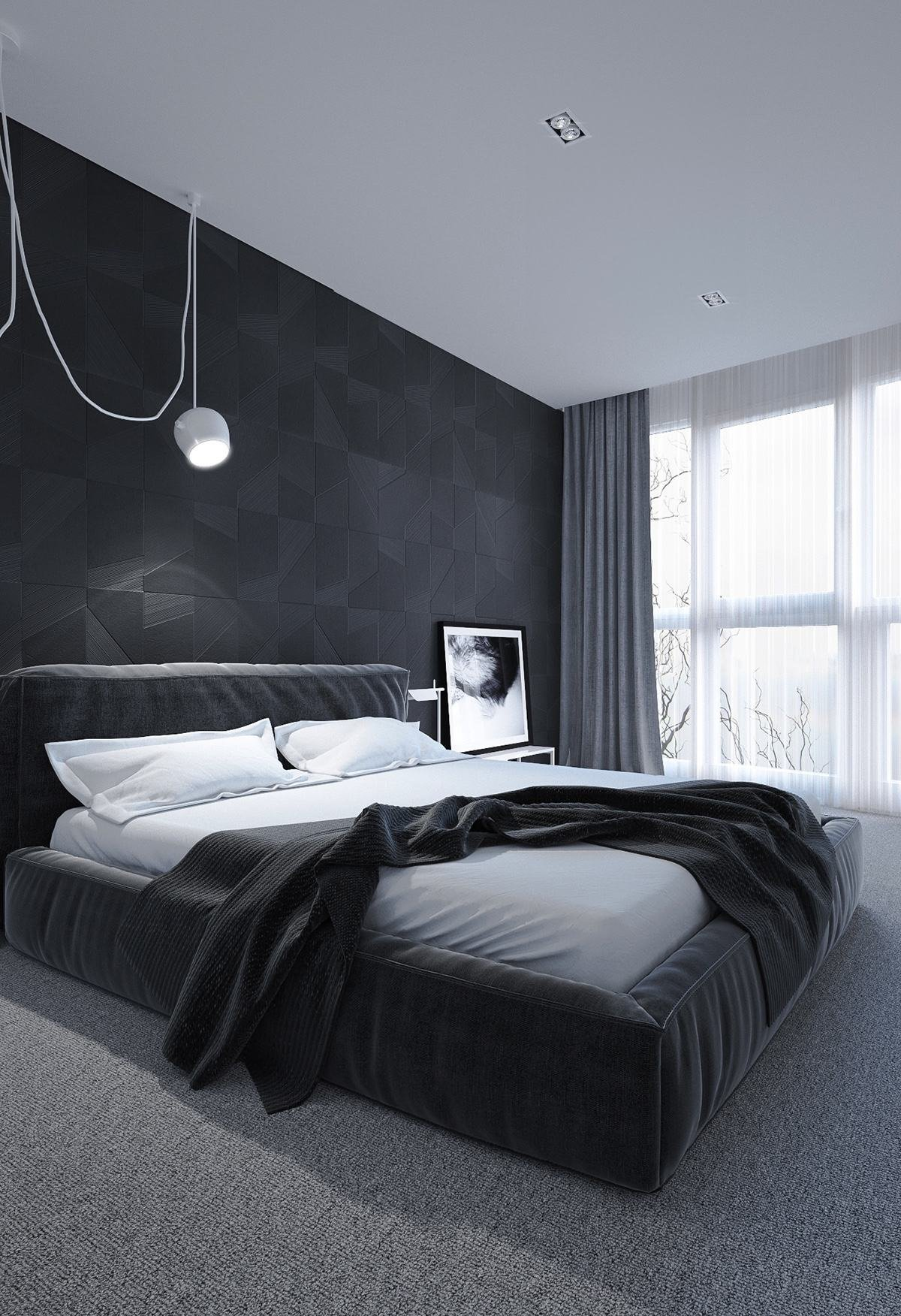 Best 6 Dark Bedrooms Designs To Inspire Sweet Dreams With Pictures