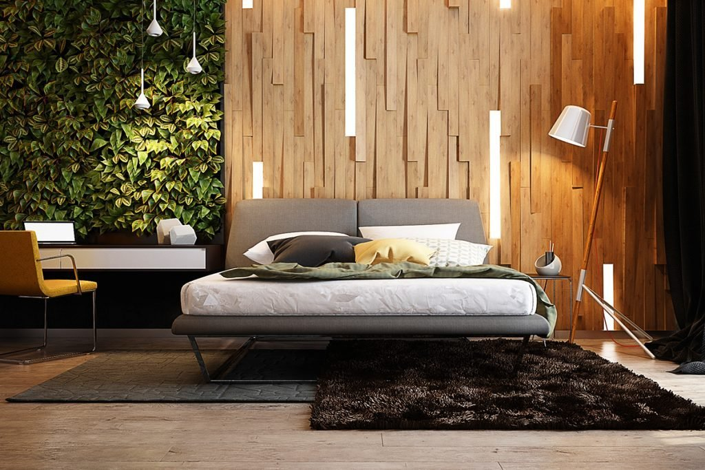Best Wooden Wall Designs 30 Striking Bedrooms That Use The With Pictures