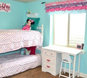 Best Hometalk Hot Pink And Turquoise Girls Bedroom Makeover With Pictures