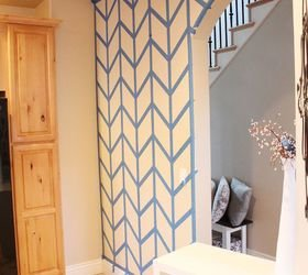Best Hometalk Herringbone Pattern Accent Wall With Pictures