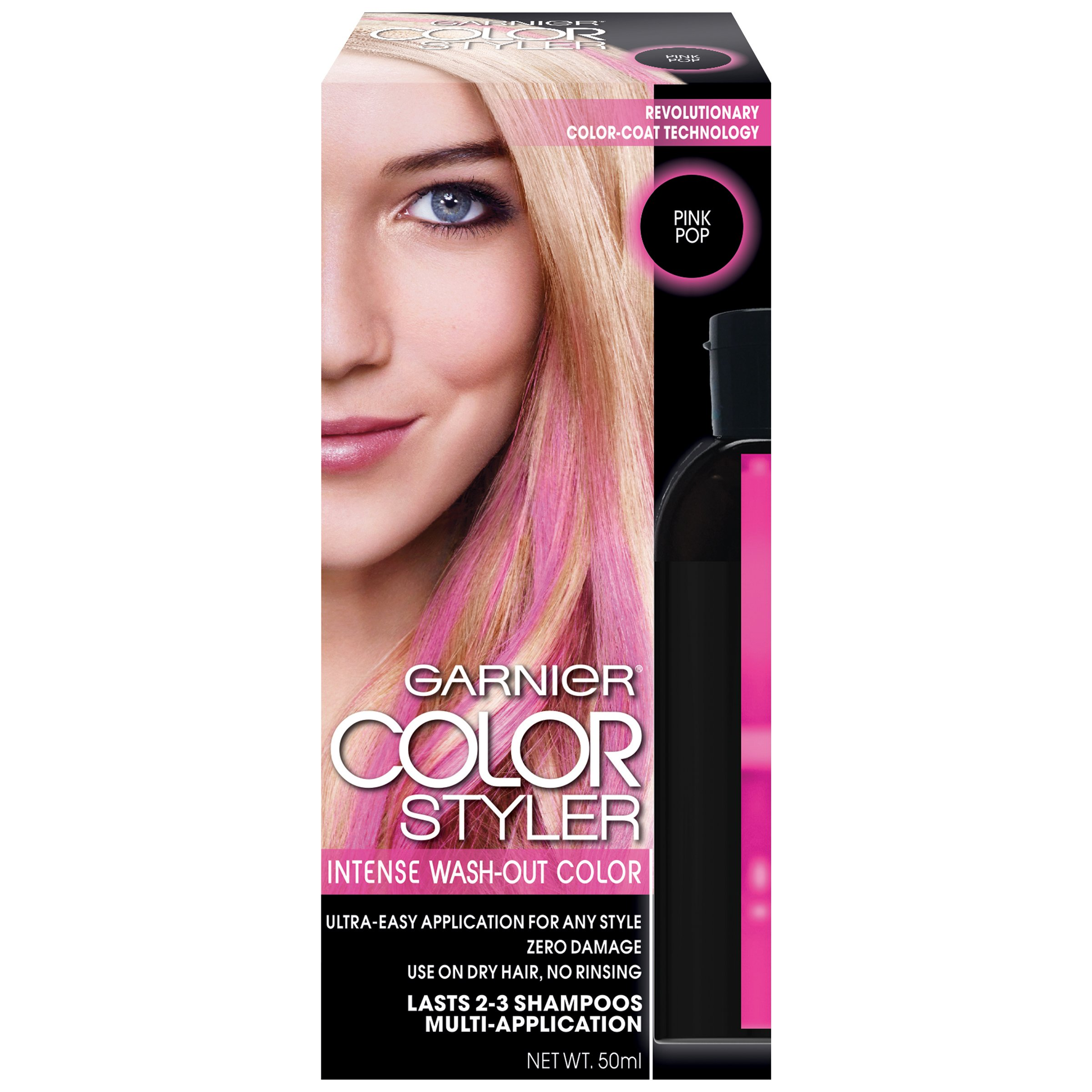 Free Garnier Color Styler Intense Wash Out Haircolor Pink Pop 1 Wallpaper