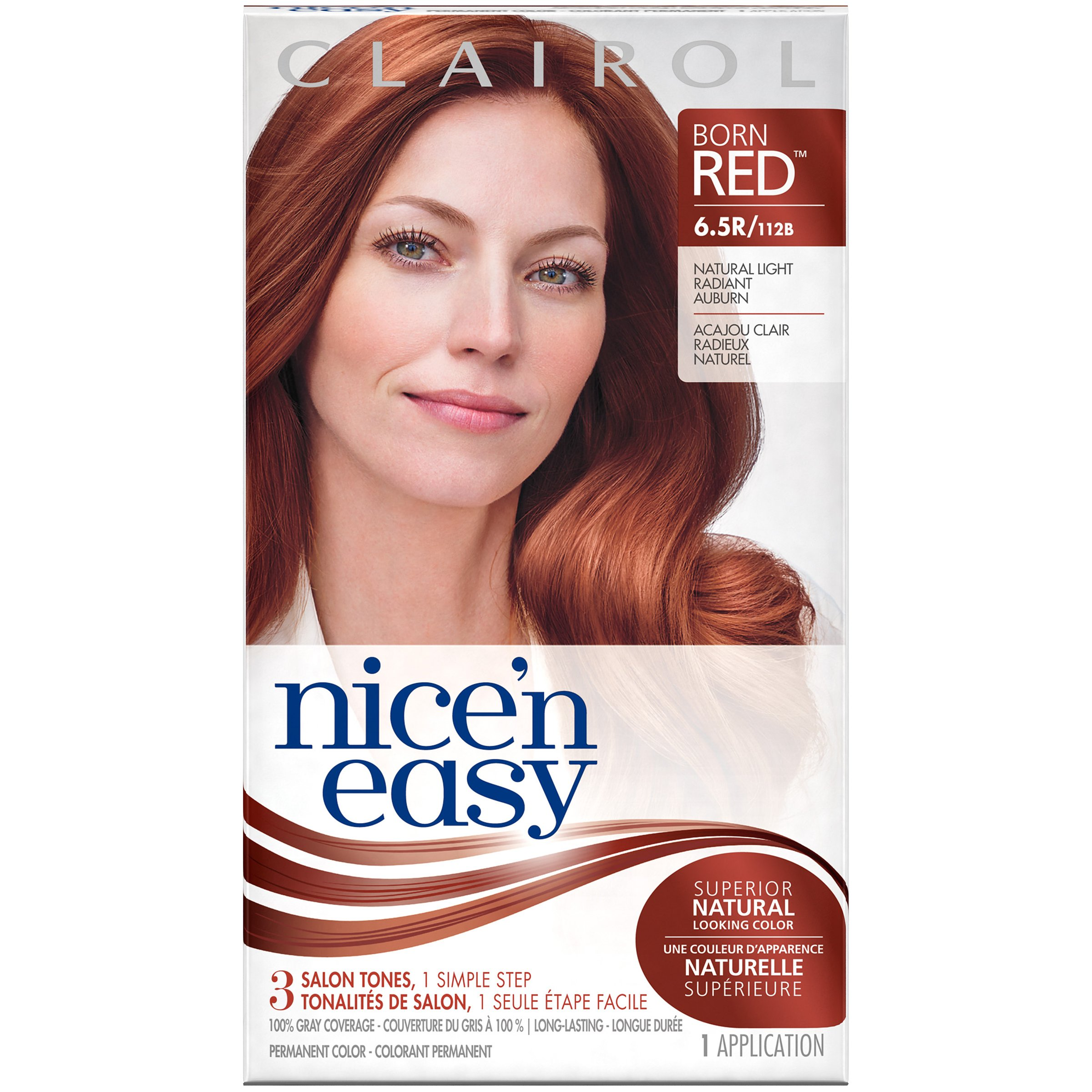 Free Clairol Clairol Nice N Easy Permanent Hair Color 6 5R Wallpaper