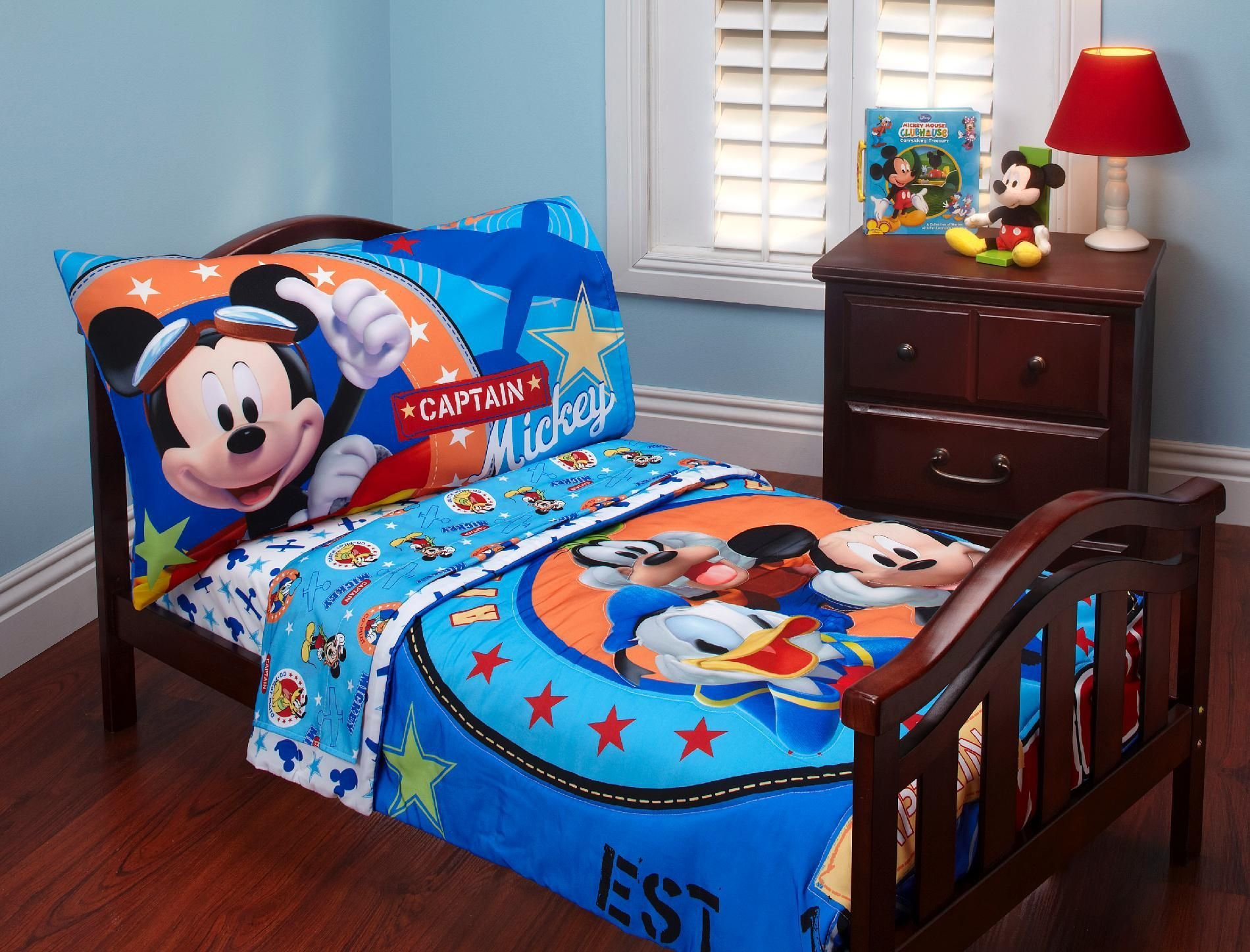 Best Disney Baby Mickey Mouse Toddler Bed Set Baby Baby With Pictures