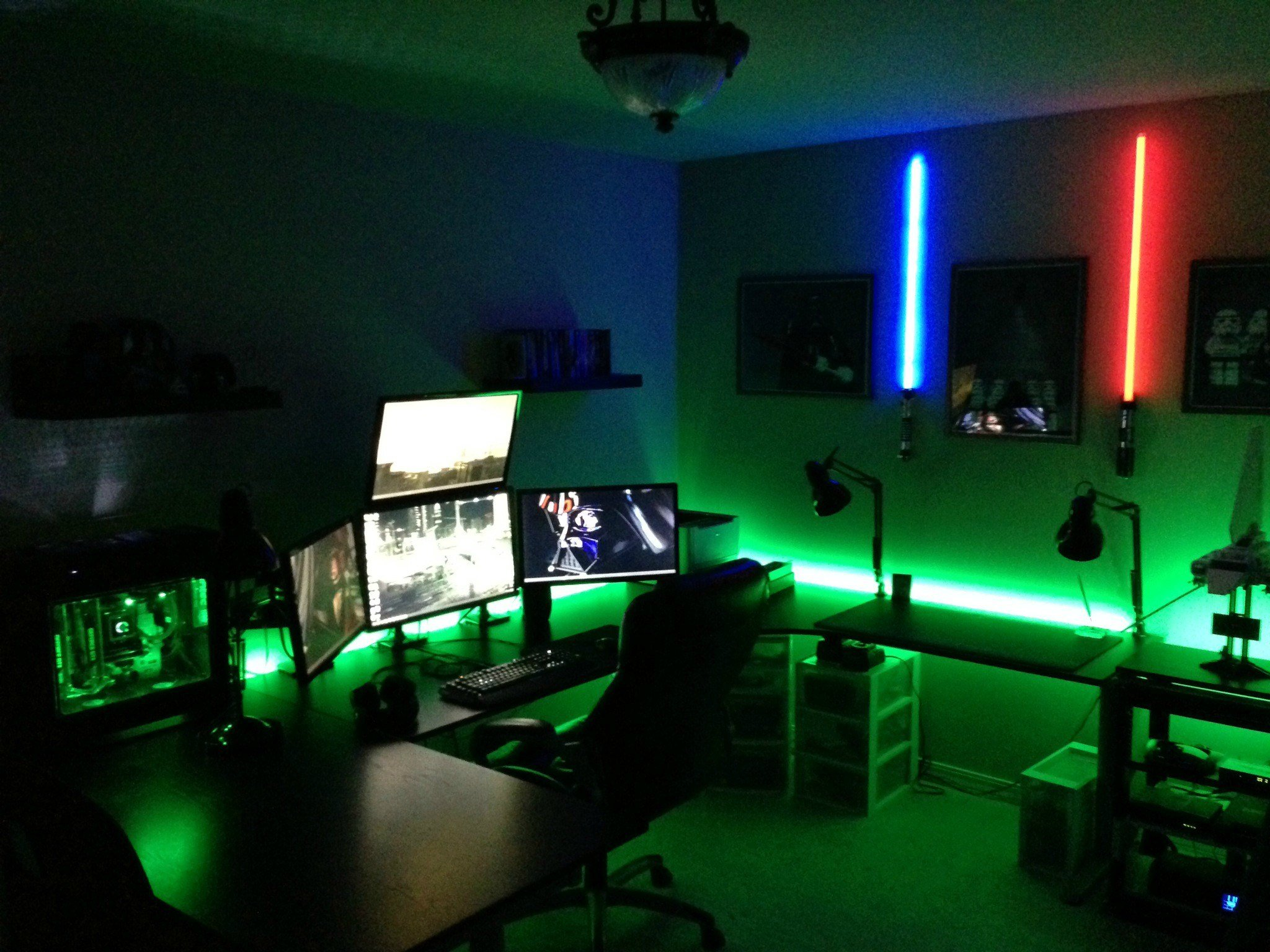 Best Cool Computer Setups And Gaming Setups With Pictures