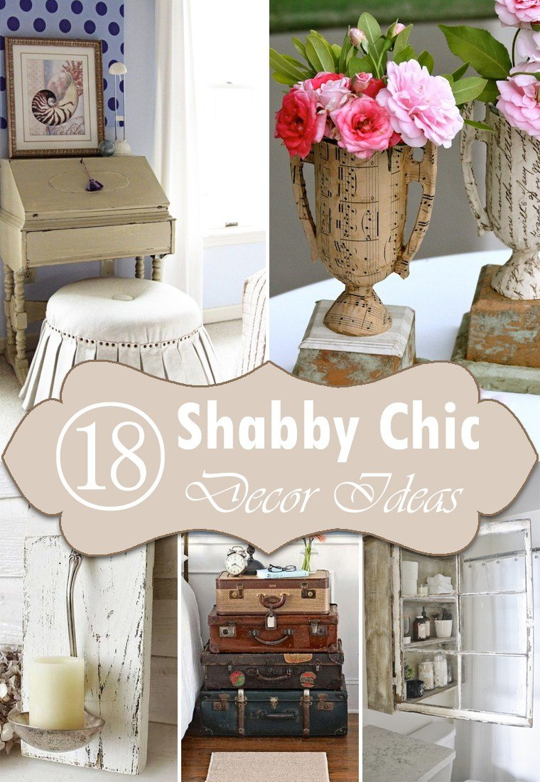 Best 18 Diy Shabby Chic Home Decorating Ideas On A Budget With Pictures