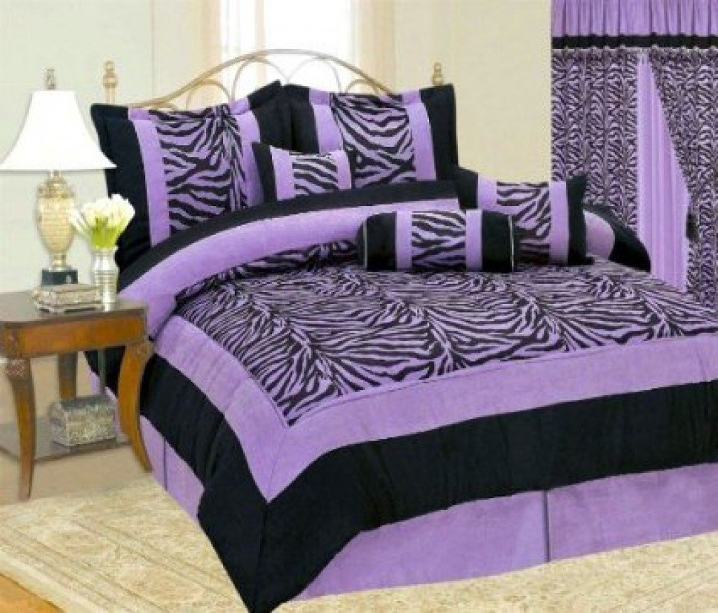 Best Purple Zebra Bedding Will Bring Royalty To Your Bedroom With Pictures