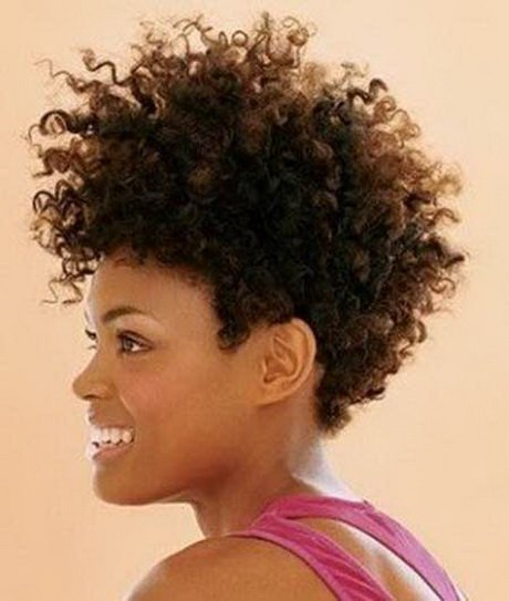 Free Natural Curly Hairstyles For Black Women Wallpaper