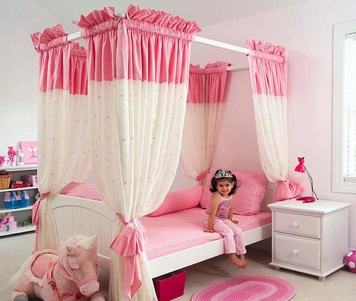 Best 15 Cool Ideas For Pink Girls Bedrooms Home Design With Pictures