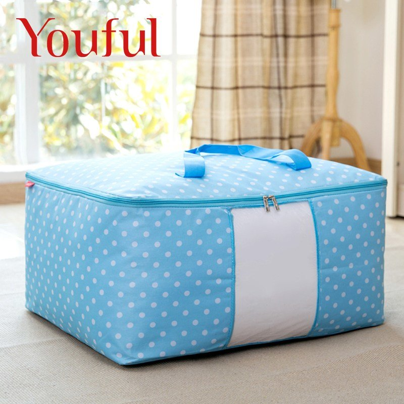 Best 1Pcs Fashion Storage Box Portable Clothing Organizer Duvet With Pictures