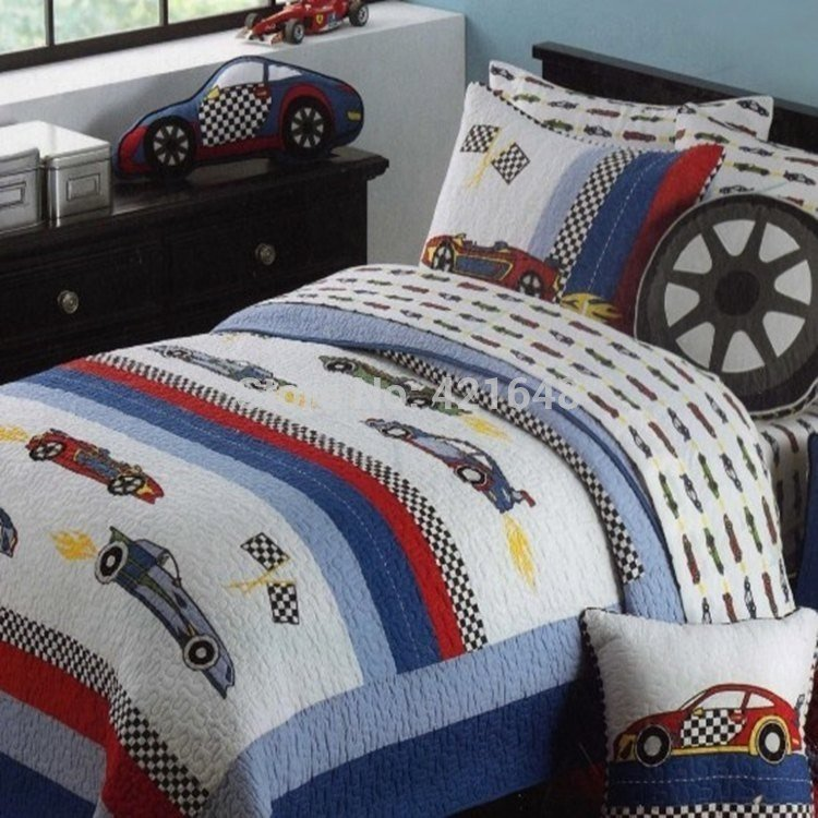 Best Aliexpress Com Buy Free Shipping Mv Race Car Kids Bedding Set Racing Car Boys Bedding Set Kids With Pictures
