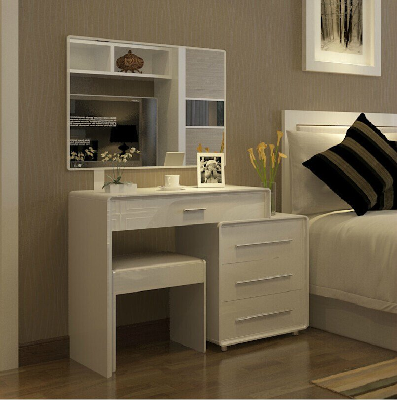 Best Scalable About Modern Minimalist White Dressing Table With Pictures