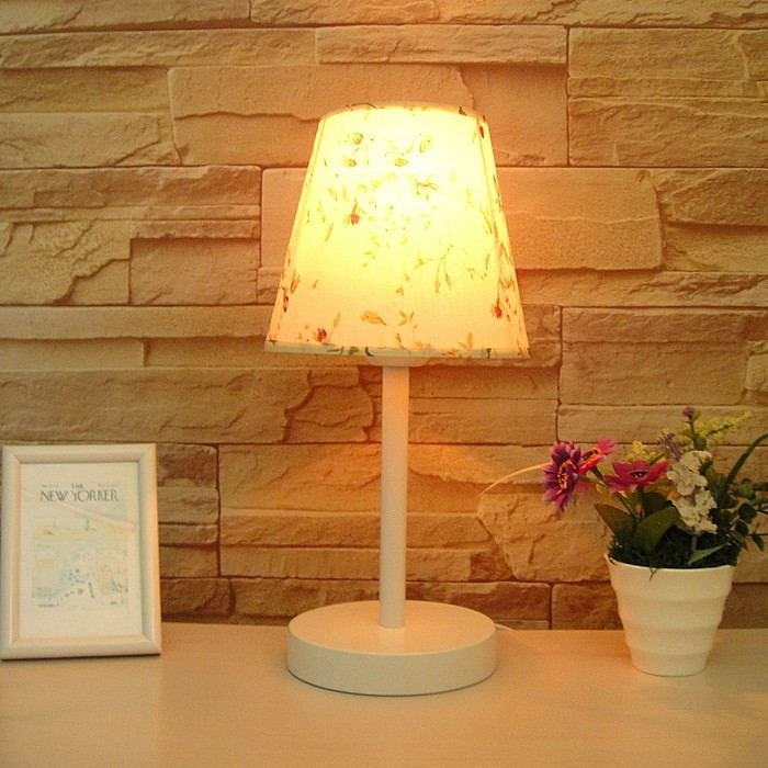 Best Rustic Table Lamp Fashion Decoration Small Table Lamp Bedroom Bedside Lamp Modern Intable Lamps With Pictures