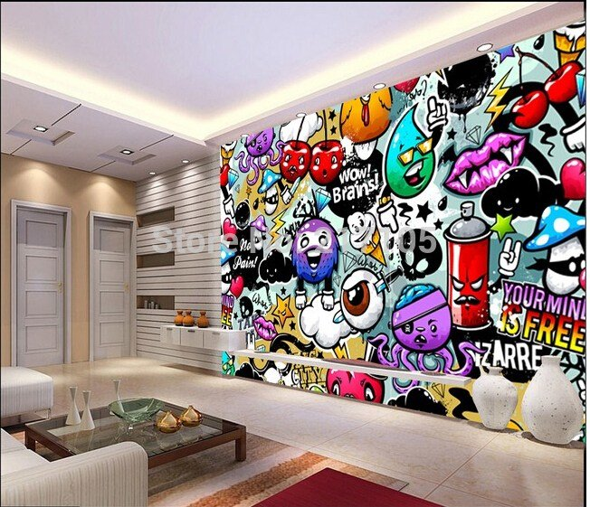 Best Aliexpress Com Buy Custom Baby Wallpaper Colorful With Pictures