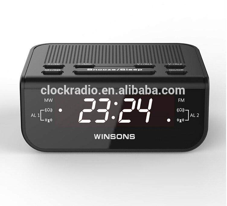 Best Led Display Digital Home Fm Band Alarm Clock Radio Scanner With Pictures