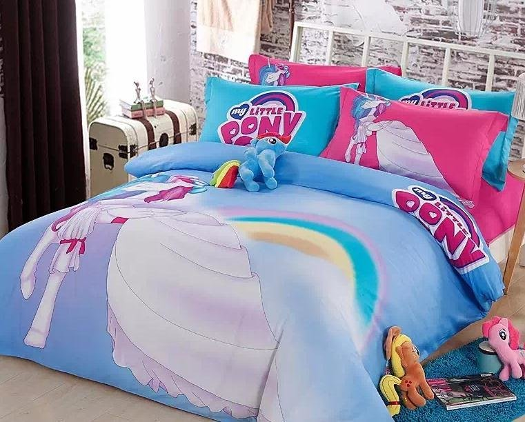 Best 100 Cotton New My Little Pony Bedding Set Girls 2015 With Pictures