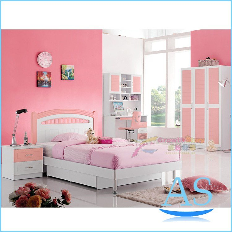 Best 2015 China Modern Lovely Kids Bedroom Furniture Girls With Pictures