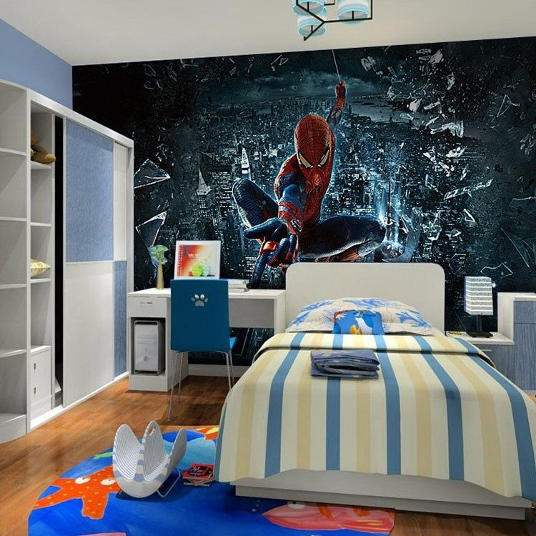 Best Download Spiderman Wallpaper For Bedroom Gallery With Pictures