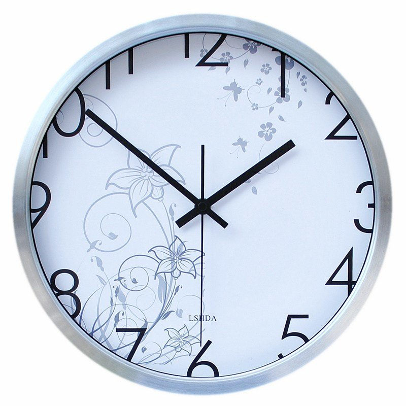 Best Force Of Mute Wall Clock Fashion Creative Wall Clock With Pictures