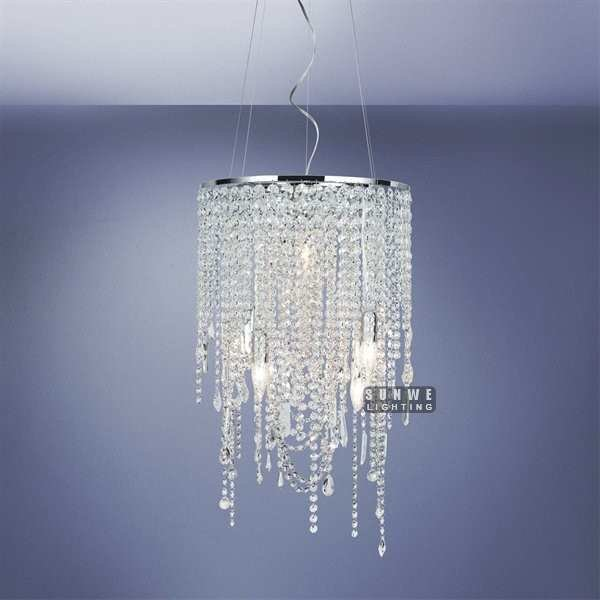 Best Mini Chrome Crystal Chandelier Light Pendant Metal Chandelier Lamp Small Bedroom Crystal With Pictures