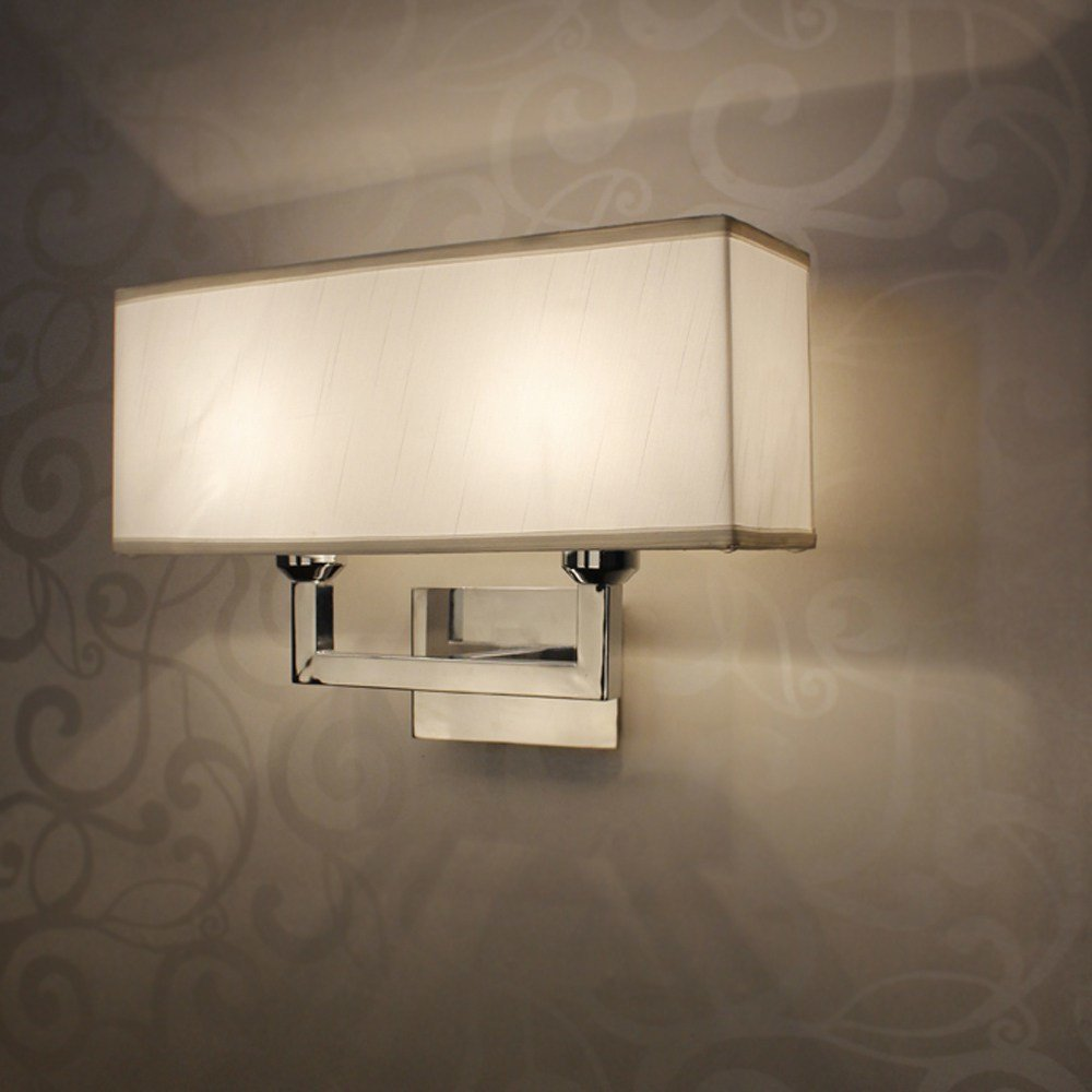 Best Modern Rectangle Wall Lamp E27 Restroom Bathroom Bedroom With Pictures