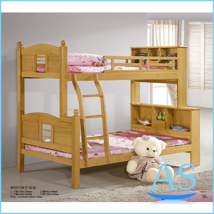Best Popular Good Quality Beech Solid Wood Kids Bunk Bed With Pictures