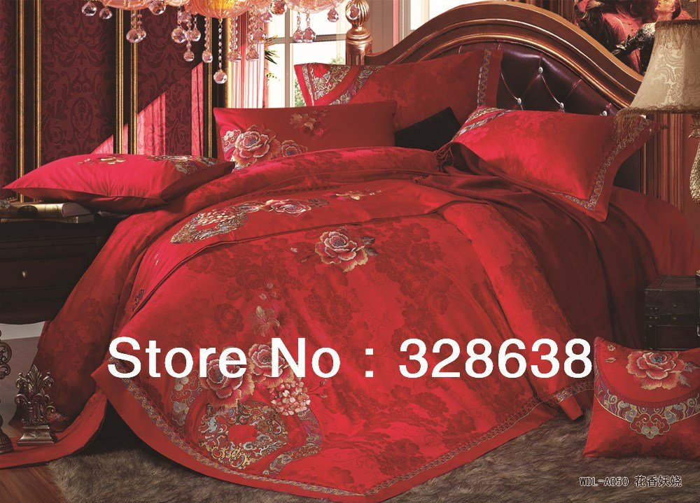 Best Wedding Comforter Sets Luxury Bedroom Sets Silk Satin With Pictures