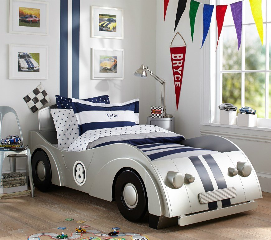 Best Fantastic Car Themed Bedrooms For Boys – Kids Bedroom Ideas With Pictures