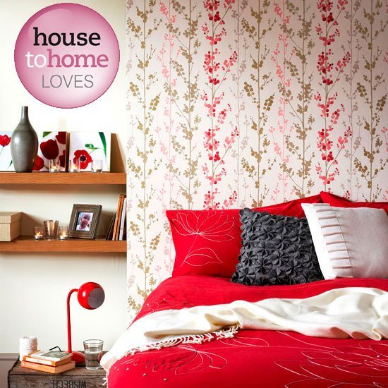 Best Floral Wallpaper From B Q Wallpapers Bedroom With Pictures