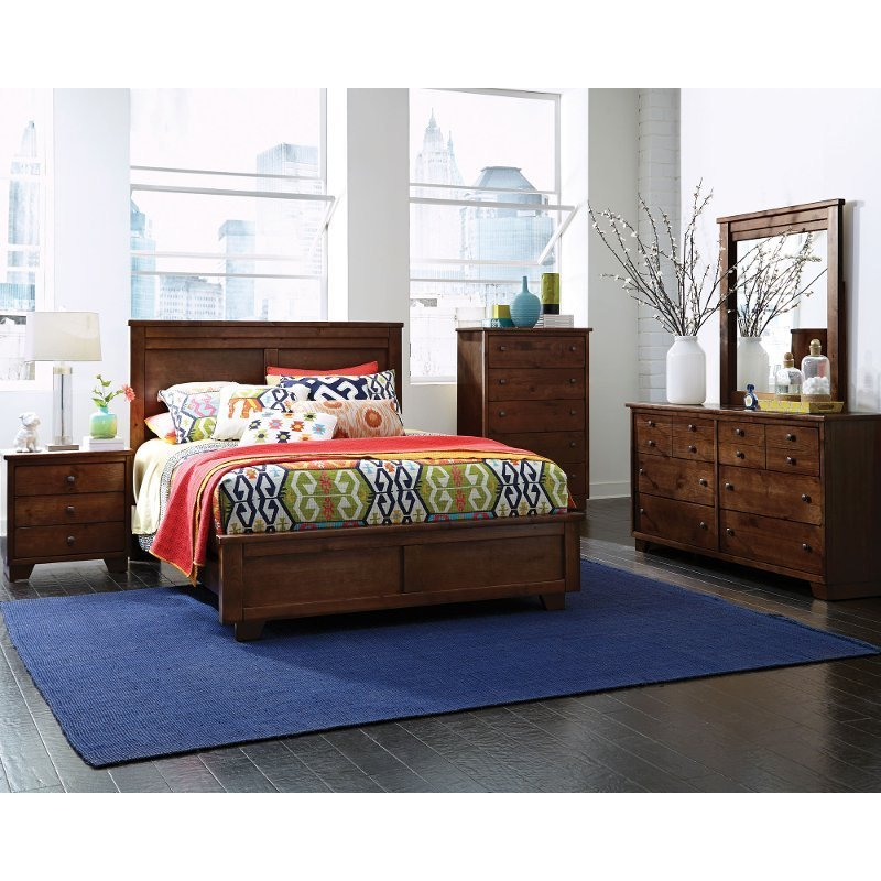 Best Contemporary Brown 4 Piece California King Bedroom Set With Pictures