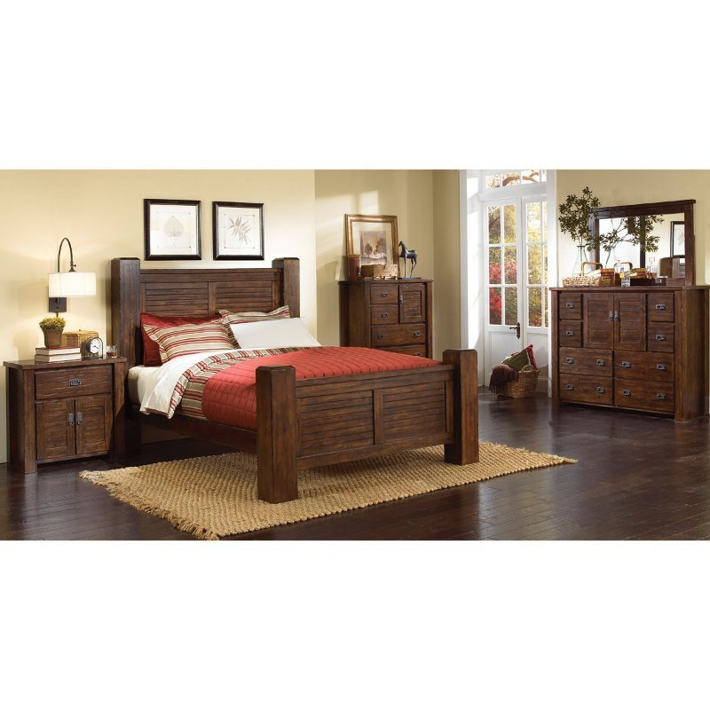 Best Trestlewood 6 Piece Queen Bedroom Set With Pictures