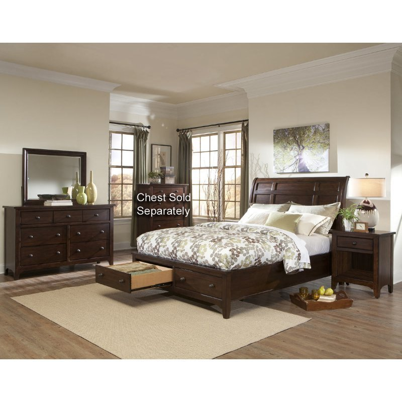 Best Intercon 6 Piece Cal King Bedroom Set With Pictures