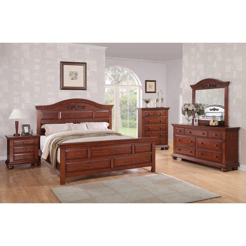 Best Montana Austin Gray 6 Piece King Bedroom Set Rc Willey With Pictures